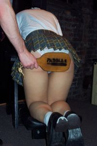 Paddling at Paddles Spanking party